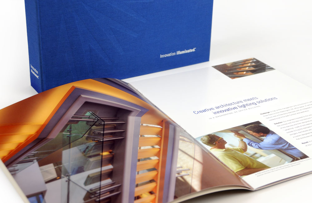 ICON International Capabilities Brochure and Binder