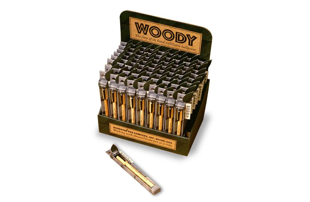 Woody Pens Packaging POP Display