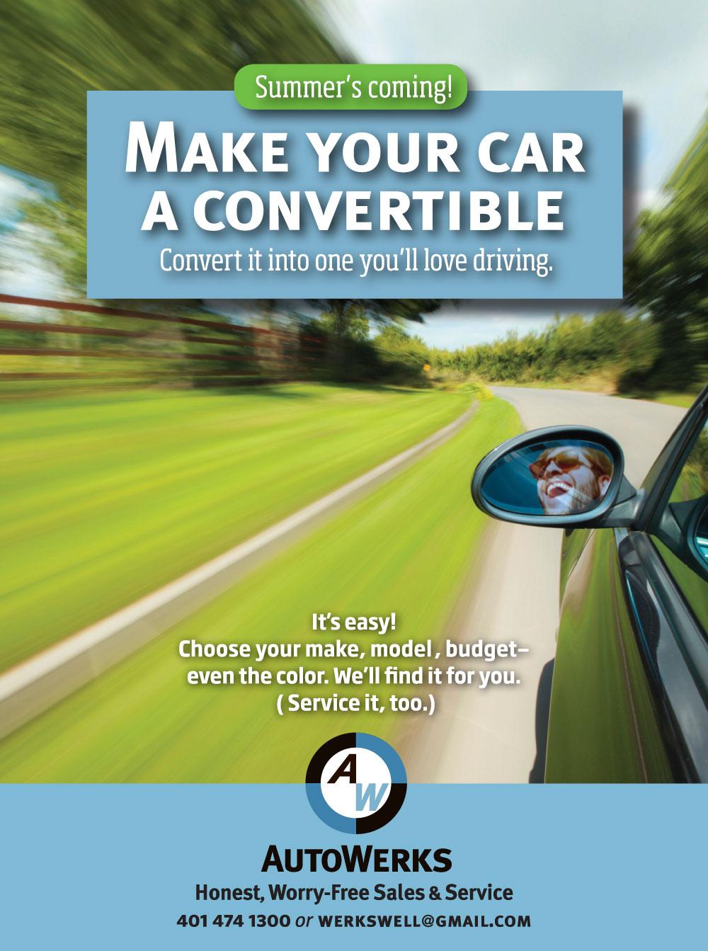 Auto Werks ad