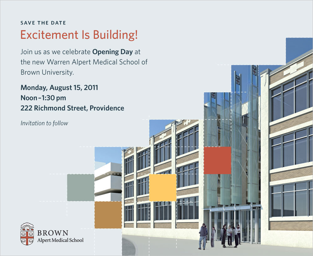 Brown University, Warren Alpert Medical School Grand Opening