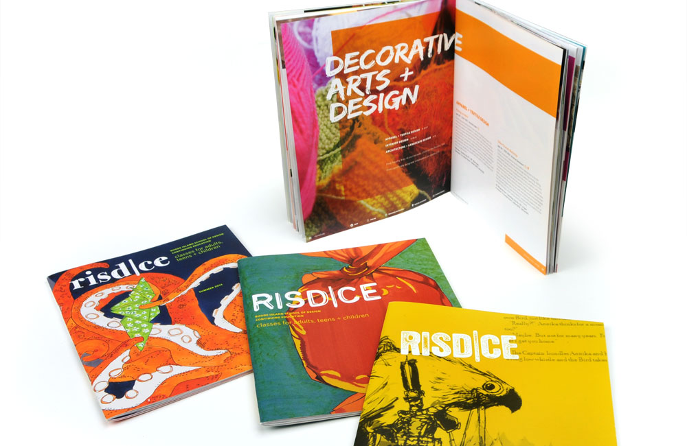 Rhode Island School of Design Continuing Education (RISD CE) Course Catalogs